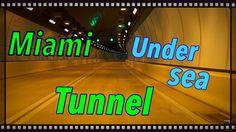 Wow! PortMiami Tunnel, Tunnel in Miami. Open day!
