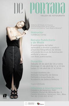 """Taller de fotografia """"De portada"""" en Veracruz"""