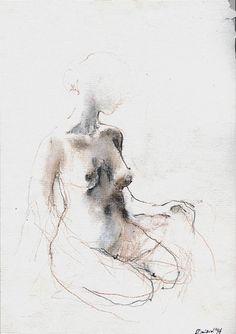 Marek Drtoździel, 20x30 cm, pastels on paper