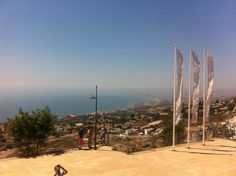 View from Stupa Benalmadena by Marbella Escapes - http://marbellaescapes.com/tours/stupa-benalmadena-butterfly-house-and-mijas-pueblo/