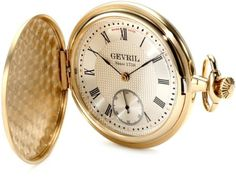 Gevril Men's G624.995.56 1758 Collection Mechanical Hand Wind Swiss Pocket Watch by Gevril -- Awesome products selected by Anna Churchill