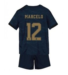 Real Madrid Marcelo #12 Segunda Equipación Niños 2019/20 Manga Corta (+ Pantalones cortos) Equipacion Real Madrid, Sports, Tops, Fashion, Soccer Shirts, Short Shorts, Hs Sports, Moda, Fashion Styles