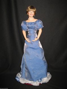 Porcelain Princess Diana The Queen of Hearts 1st Memorial Doll w COA 1997 | eBay