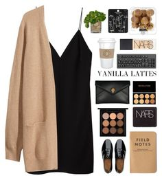 Untitled #2028 by tacoxcat on Polyvore featuring T By Alexander Wang, H&M, FitFlop, Alexander McQueen, Topshop, NARS Cosmetics, The French Bee and MAC Cosmetics