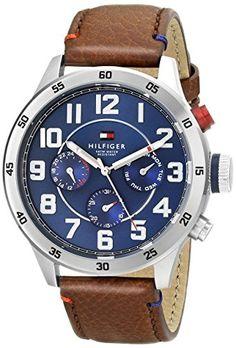 Tommy Hilfiger Men's 1791066 Stainless Steel Watch With B... https://www.amazon.com/dp/B00LX0IVWK/ref=cm_sw_r_pi_dp_0-4Ixb2H06Q8R