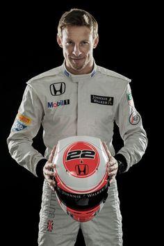 Jenson Button McLaren Honda 2015 Formula 1 New Helmet #MakeHistory