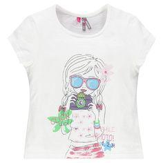 Tee-shirt manches courtes print fantaisie  Main ss16