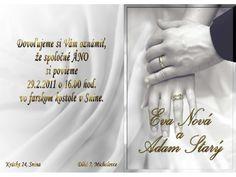 Svadobné oznámenie - SO031
