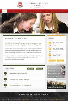 The High School Dublin School Websites, School Events, Secondary School, Dublin, High School, Education, Middle School, Grammar School, Learning