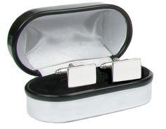 Templeton & May Sterling Silver Cufflinks - Free to engrave #maleattendants #weddingfavours #wedding #pageboy #giftideas