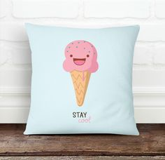 Stay Cool Pillow Cover from Decorart Design by DaWanda.com
