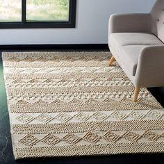 Laurel Foundry Modern Farmhouse Billie Hand-Tufted Wool/Cotton Beige/Ivory Area Rug Rug Size: Runner x Carpet Decor, Diy Carpet, Modern Carpet, Rugs On Carpet, Hall Carpet, Stair Carpet, Sisal Carpet, Basement Carpet, Plush Carpet