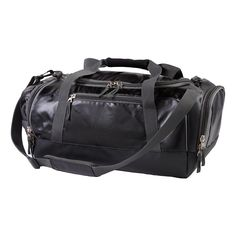 Make your active lifestyle a breeze by toting all of your training essentials conveniently and comfortably in the Road Runner Sports Your Fit-It-All Duffle Bag