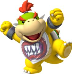 mario bros. Clip Art Free | Profile art of Bowser Jr. in his appearance for Mario Party 9 .