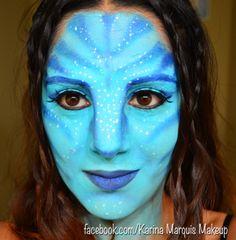 Avatar makeup   My Style   Pinterest   Avatar makeup, Avatar and ...