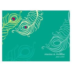 Perfect Peacock Note Card Indigo Blue (Pack of 1)