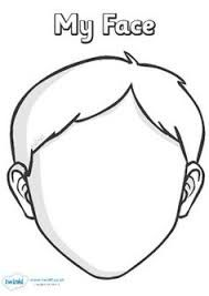 Resultado de imagem para body template for preschool