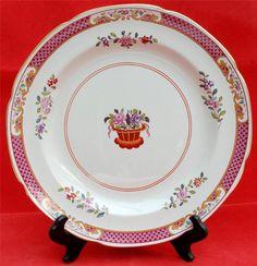 6 x Spode Lord Calvert 10.25  Dinner Plates Pattern No Y5351