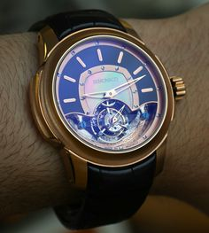 Ateliers DeMonaco Tourbillon Carre And Ronde Watches Hands-On