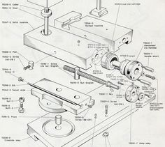 The Top-Slide Dual Dial Cartridge (Gamet Dual Dials on the Colchester Lathe) Metal Lathe Tools, Metal Lathe Projects, Lathe Parts, Diy Lathe, Metal Working Tools, Horizontal Milling Machine, Engineering Tools, Mechanical Engineering, Lathe Accessories