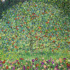 Gustav Klimt Apple Tree I Painting
