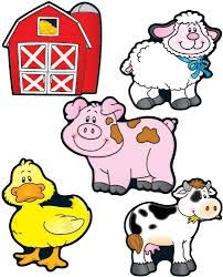 farm animal free printables farm animals digital clip art clipart rh pinterest com farm clipart free cute farm clipart free
