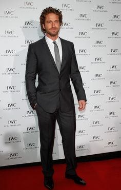 Gerald Butler wearing Dolce to the Filmmakers Dinner in Cannes on May 21, 2012.,#Repin By:Pinterest++ for iPad#