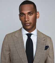 Checked Blazer, Best Mens Fashion, Fashion Line, Reiss, Modern Man, Mens Clothing Styles, Brown And Grey, Suit Jacket, Slim