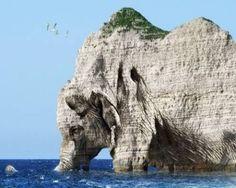 Natural rock formation - Elephant rock