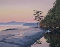 "Ron Parker - Morning Sandbar - 24"" x 30"" - oil on canvas"