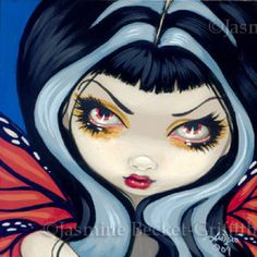 Faces of Faery #23 | Art by Jasmine Becket-Griffith
