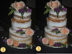 PATY'SKITCHEN: RUSTIC NAKED CAKE