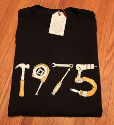 Image of 1975 ToolTime fundraiser shirt