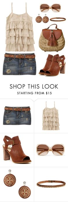 """""""Untitled #1432"""" by gallant81 ❤ liked on Polyvore featuring Forever 21, Nine West, Chloé, Miss Selfridge and Riccardo Forconi"""