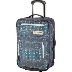 3f1bc517d7110 DAKINE Status 45L Rolling Gear Bag 2756cu in Furrow One Size Carry On Bag