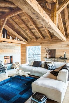 Holz zieht ein... Home And Living, Living Room, Furniture Decor, Modern, Couch, Sofa, Pergola, Design Inspiration, Patio