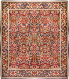 A European Antique Rug. Perfect choice for traditional interiors as well as for a modern interior design. The carpet is of a very good quality Price: $185,000