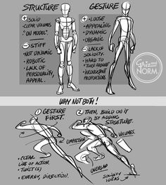 grizandnorm:  Tuesday Tips - Structure/Gesture:... - Nerd Armada