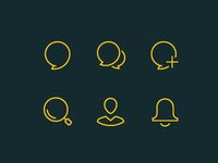 Activity line icons designed by Ion Popa. the global community for designers and creative professionals.