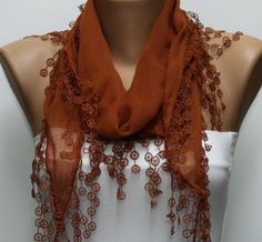 A scarf changes everything -- #Scarves DIY