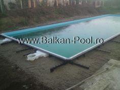 Piscine modulare din panouri - Graphex Pool System