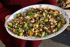 Sültkelbimbó-saláta Sprouts, Potato Salad, Potatoes, Vegetables, Healthy, Ethnic Recipes, Food, Potato, Essen