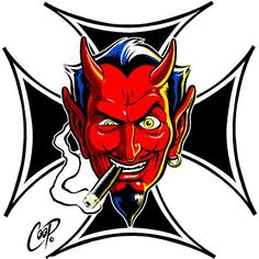 Iron Cross Devil