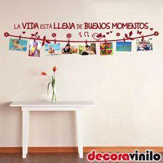 1000 ideas about vinilos decorativos para cocina on - Como colocar vinilo en pared ...