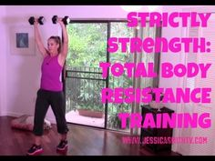 Free Online Workout Video: 20-Minute Total Body Strength Training Routine - Strictly Strength