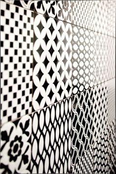 Dekors uit het verleden; de tegels van de serie Decor d'Antan worden gemaakt door Tagina uit Italië.