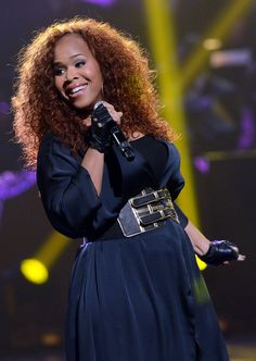 Tina Campbell and Family | Tina Campbell Mary Mary's Tina Campbell performs on the 28th Annual ... Essence Festival, Erica Campbell, Queen Latifah, Women In Music, Queen Hair, Godly Woman, African American Women, Celebs, Celebrities