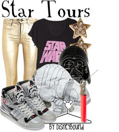 Disney World Star Tours Ride in Hollywood Studio Nerd Outfits, Disney Bound Outfits, Disney Inspired Outfits, Disney Dresses, Disney Style, Cute Outfits, Fashion Outfits, Disney Clothes, Nerd Clothes