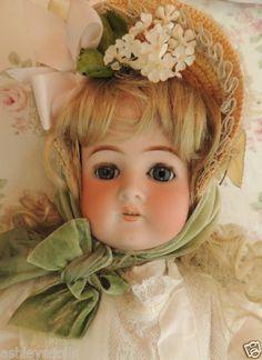 Antique German Bisque Doll, Dressel #1912, 22 Inches, Antique Doll, Pretty!