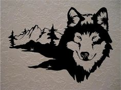 Wolf Wolves Wall Decals Mural Home Decor Vinyl Stickers Decorate Your Bedroom Man Cave Nursery – Body Art Man Cave Wall Decals, Animal Wall Decals, Vinyl Wall Stickers, Vinyl Wall Art, Nursery Stickers, Home Wall Decor, Home Decor Bedroom, Bedroom Wall, Bedroom Artwork